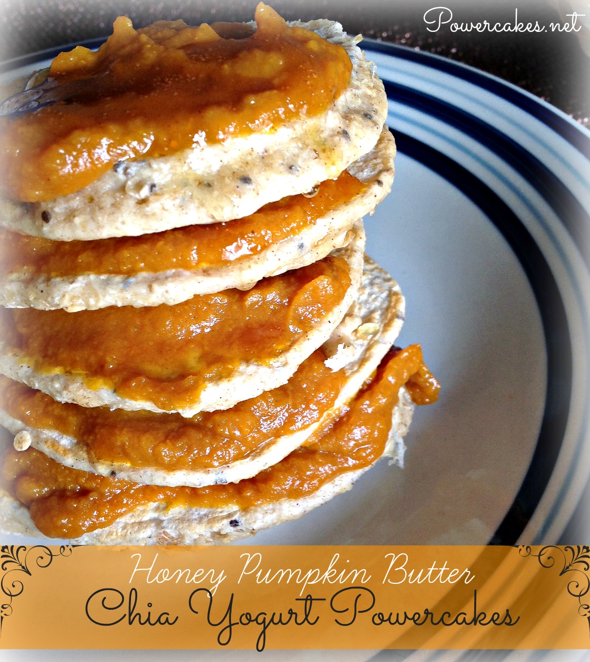 honey pumpkin butter powercakes