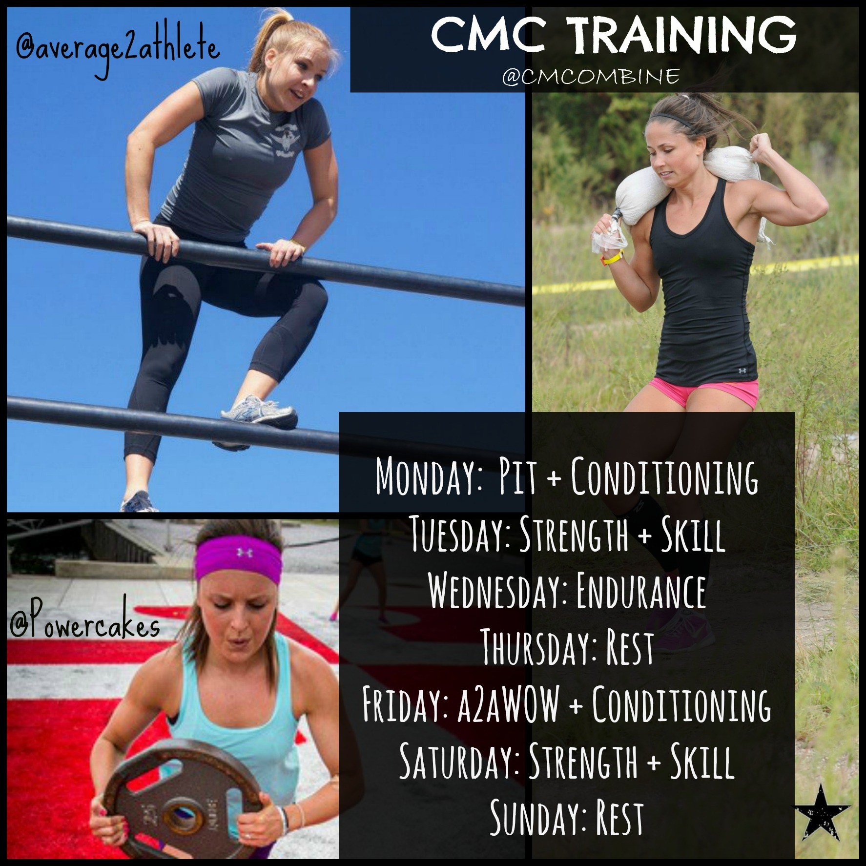 CMC Team Training Collage